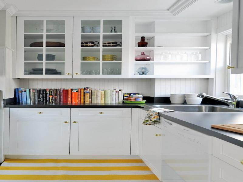 Open kitchen shelving for Kitchen shelves design